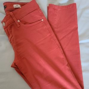 Level 99 Coral skinny straight jeans